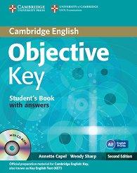 Objective - Key (A2): Учебник + CD : Учебен курс по английски език - Second Еdition - Annette Capel, Wendy Sharp -