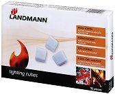 Сухи кубчета - разпалки за разпалване на огън