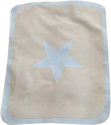 """Бебешко одеяло - Звездичка - Размер 70 x 90 cm от серия """"Juwel"""" - продукт"""