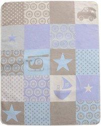 """Бебешко одеяло - Звезди - С размери 70 x 90 cm от серия """"Juwel"""" - продукт"""