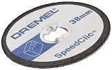 Дискове за рязане на пластмаса - ∅ 38 mm - Комплект от 5 броя - продукт